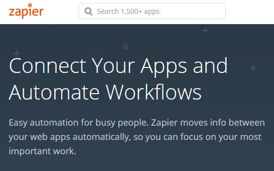 zapier là gì - phần mềm zapier
