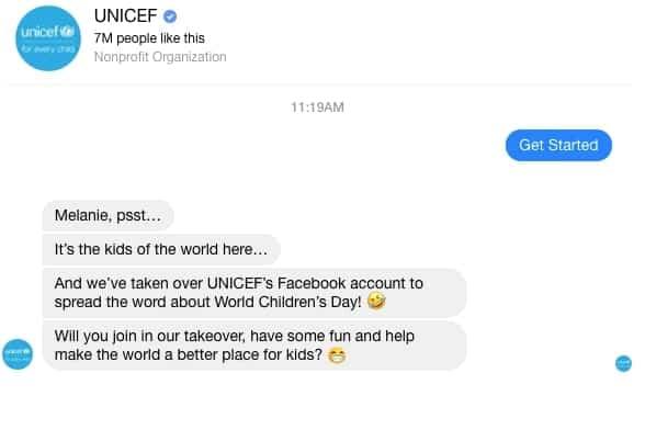 facebook chat bot