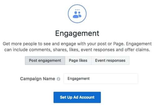 hướng dẫn quảng cáo instagram - engagement