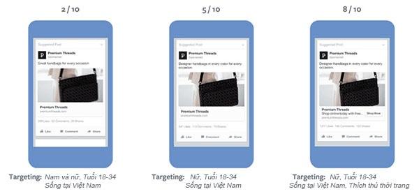 điểm phù hợp quảng cáo facebook