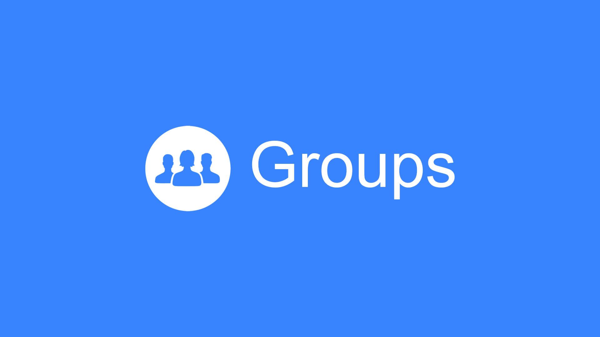 tạo nhóm trên facebook