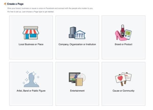 Tạo trang marketing trên Facebook
