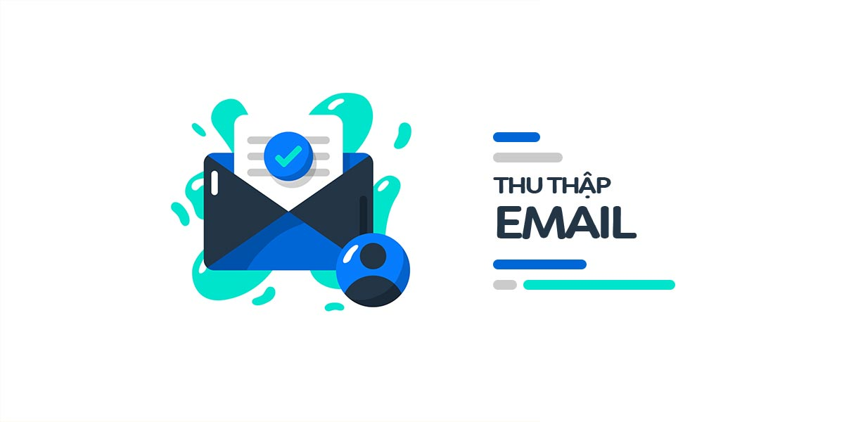 thu thập email từ landing page