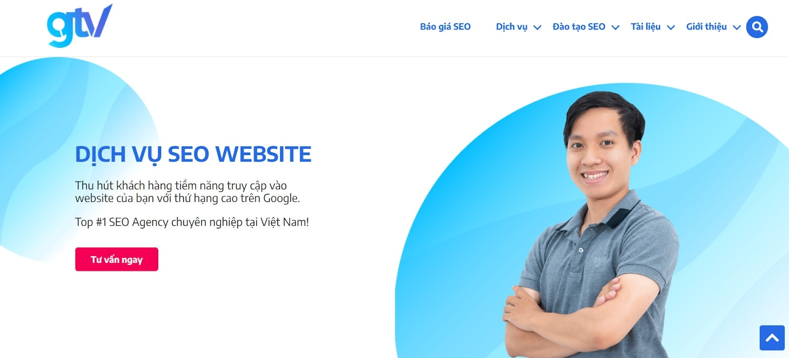 xây dựng giao diện website GTV SEO