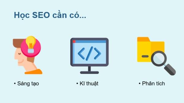 3 Kỹ năng cần có khi học seo website - Hướng dẫn seo web