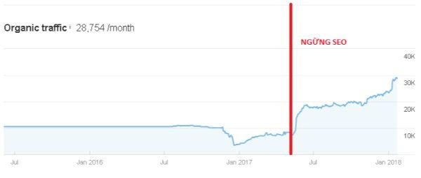 Dịch vụ tăng traffic website của GTV SEO dành cho khách hàng