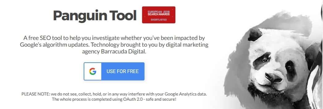 Panguin Tool - Công cụ SEO miễn phí