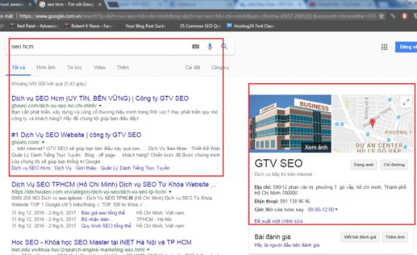 seo top 3 google map