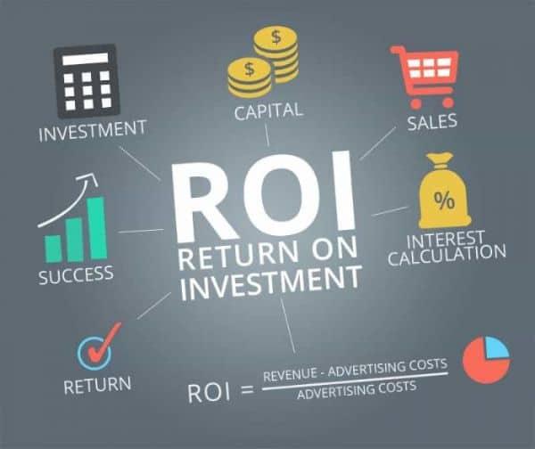 tỉ lệ lợi nhuận so với đầu tư của SEO