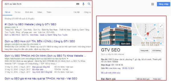 dịch vụ seo google map, cách seo top google map