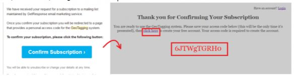 đăng ký tài khoản geotag, hướng dẫn geo tag