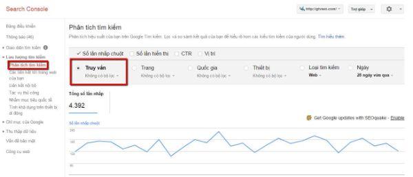 sử dụng webmaster tool - google webmaster tools