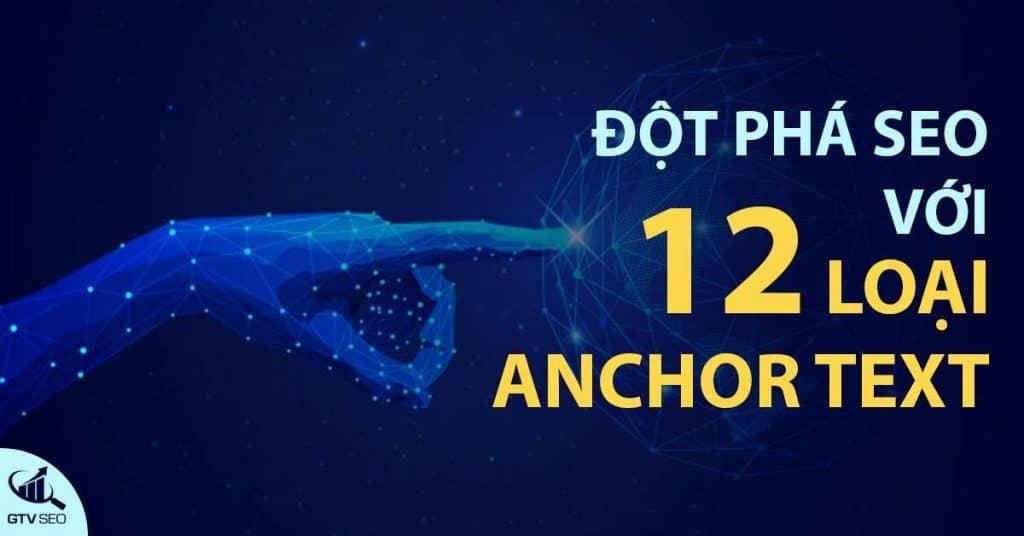 các loại anchor text