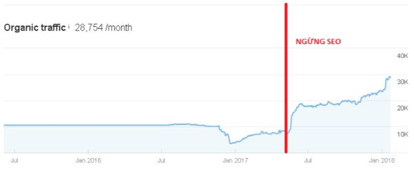 dịch vụ tăng traffic website
