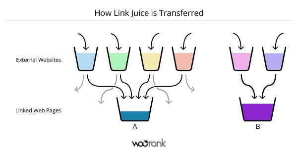 dòng chảy link juice