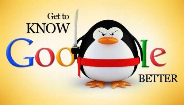 thuật toán phạt của google