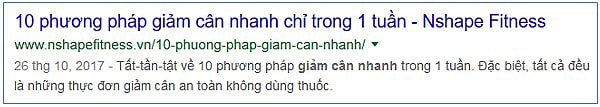 viết meta description hay