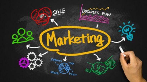 việc của người làm marketing