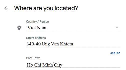 địa chỉ gtv seo google my business