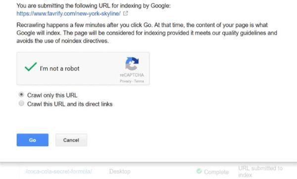 google phân tích sitemap
