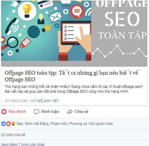 chia sẻ facebook gtv seo