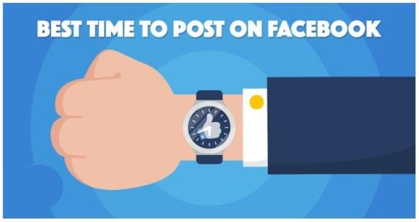 Canh thời gian đăng bài - cách chạy marketing facebook hiệu quả.