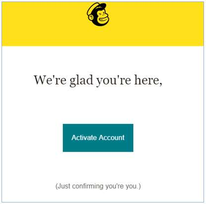 huong dan su dung mailchimp activate account