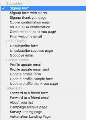cách dùng mailchimp tạo danh sách form đăng ký