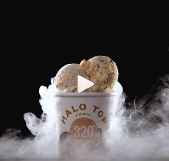 social media marketing của halo top creamery