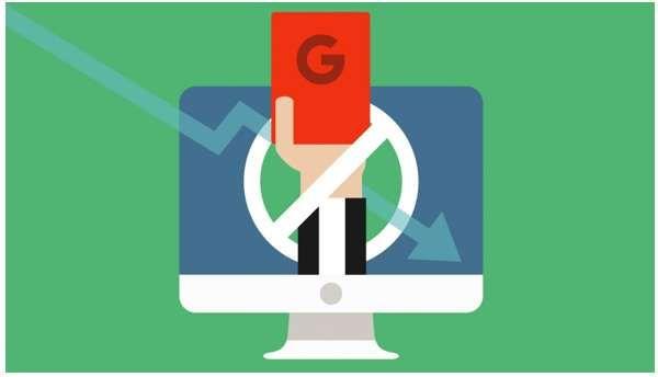 thời gian google phạt website