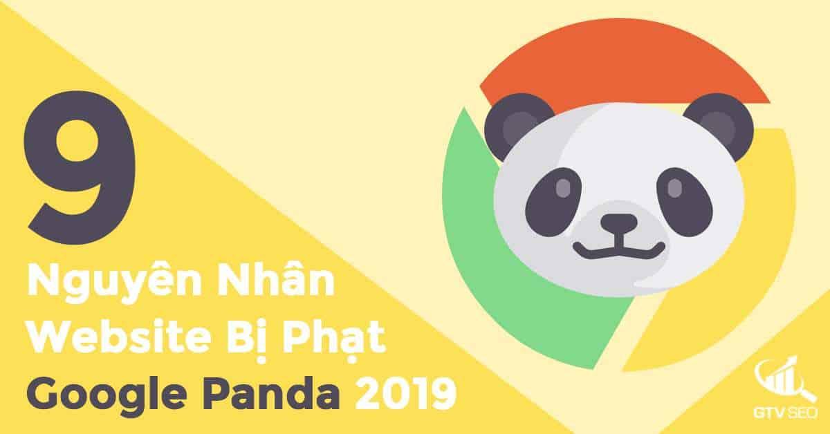 google panda, website bị phạt google panda