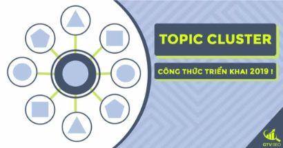 topic cluster là gì, cụm chủ đề, topic cluster