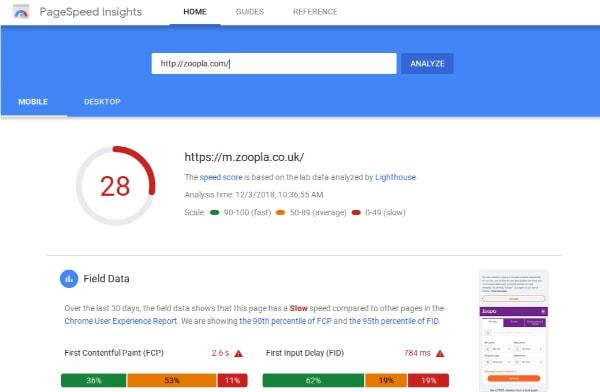 tối ưu tốc độ tải trang bằng google pagespeed insight