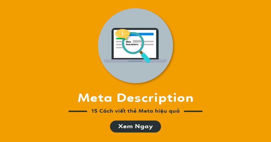 nội dung thẻ meta description - dịch vụ viết content, nội dung chuẩn seo