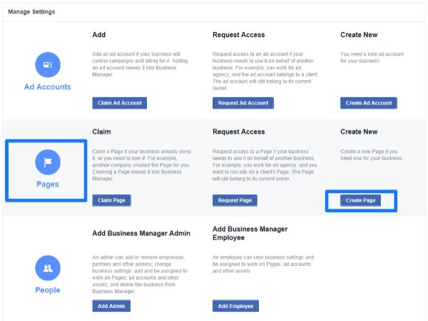 business facebook overview