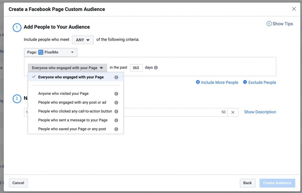 fb custom audience