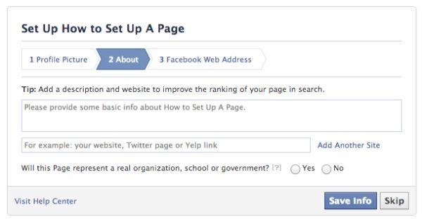 cách lập fanpage facebook