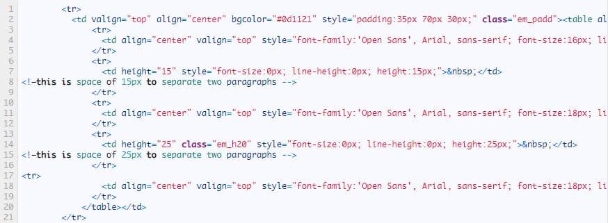 tạo email html đẹp