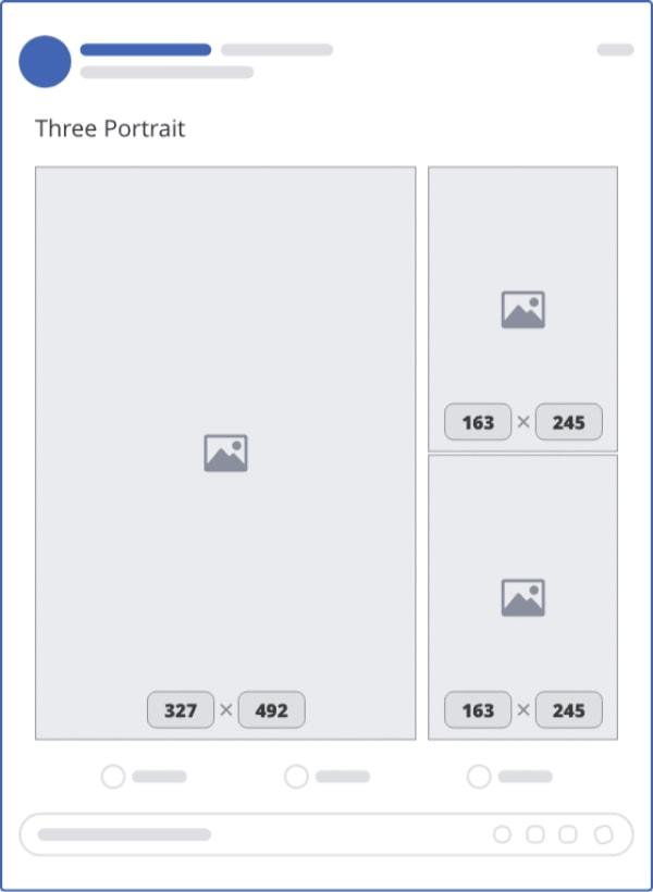 kích thước ảnh đăng facebook 3 hình đứng