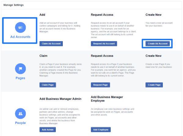 quản lý quảng cáo trên facebook