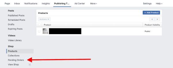 tạo trang bán hàng trên facebook