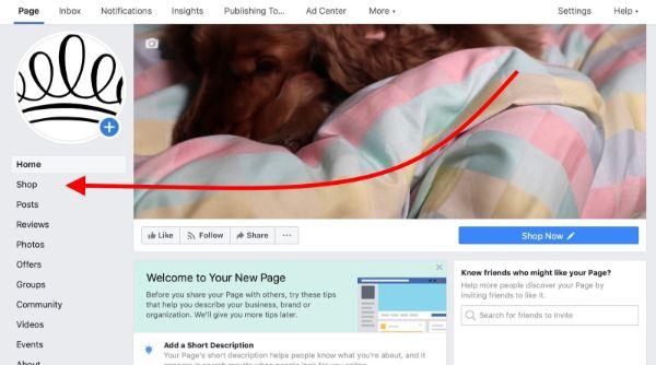 Cách tạo fanpage bán hàng trên facebook bằng máy tính