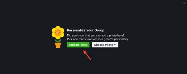 tạo ảnh bìa nhóm trên facebook
