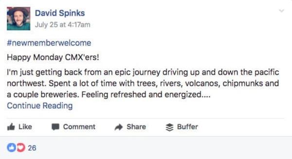 tương tác nhóm facebook hiệu quả