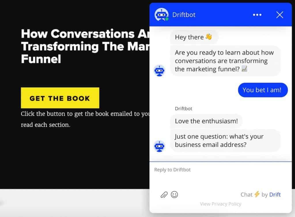 site chat giúp bạn lấy lead tăng khả năng bán được hàng