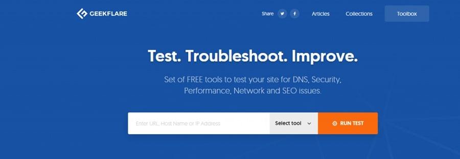 kiểm tra tốc độ hosting