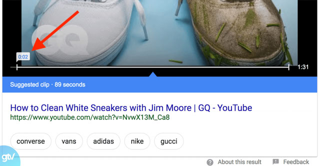 Kết quả Voice Search trả về dạng Featured Snippets