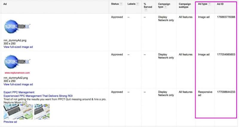google display ads, Tin học