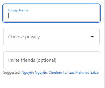 cách tạo nhóm trên fb