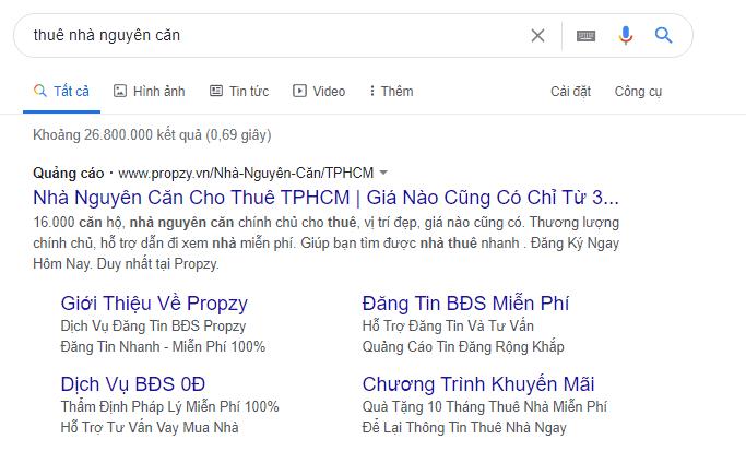 Giao diện quảng cáo Google Adwords mới